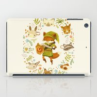 fox iPad Cases featuring The Legend of Zelda: Mammal's Mask by Teagan White