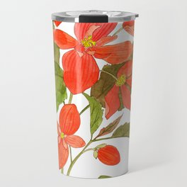 Begonia Travel Mug