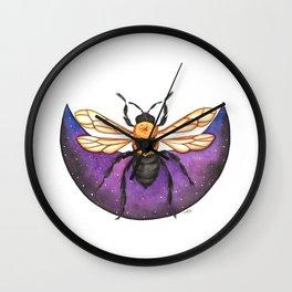 Cosmic Bee Wall Clock