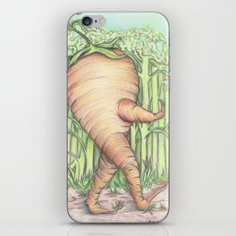 Walkin Carrot iPhone Skin