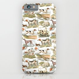 Hounds, Hounds, Hounds iPhone Case