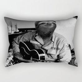 Rockstar Sloth #3 Rectangular Pillow