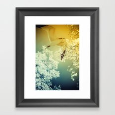 Connections. Framed Art Print