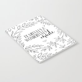 Fearfully and Wonderfully Made Notebook