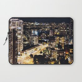 Gold Luminous Yaletown Vancouver Laptop Sleeve