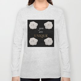 You Are Unique Long Sleeve T-shirt
