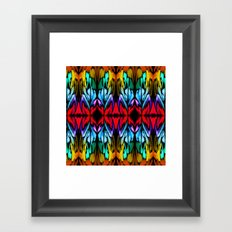 Parrot Patterns Framed Art Print