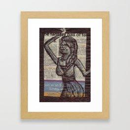 The Fantasy Framed Art Print