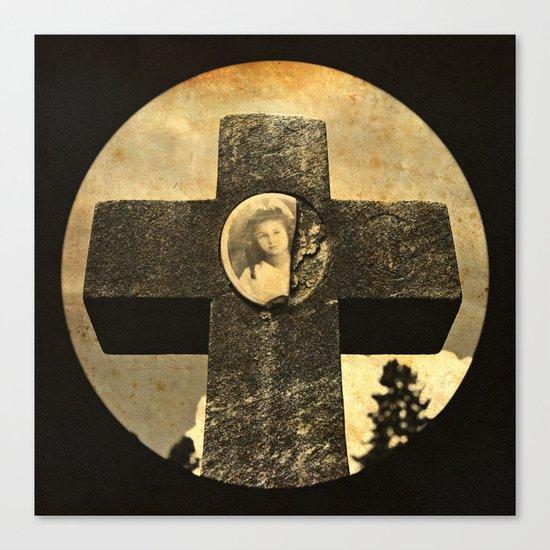 Jennie's cross Canvas Print
