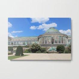 Botanical Gardens-Belgium Metal Print