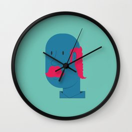 OLD MOSTACHIN Wall Clock