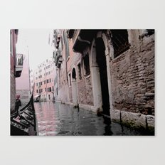 Memories from Venice Canvas Print