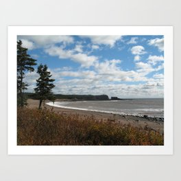 New Brunswick Shoreline Art Print