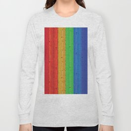 Colours Of The Rainbow Long Sleeve T-shirt