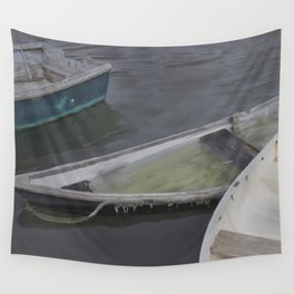 Cape Porpoise Dories Wall Tapestry