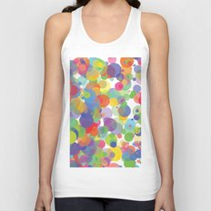 Candy Dots Unisex Tank Top