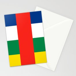 Flag of the Central African Republic Stationery Cards