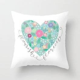 Flourish - Florecer Throw Pillow