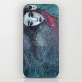 Underwater dive iPhone Skin
