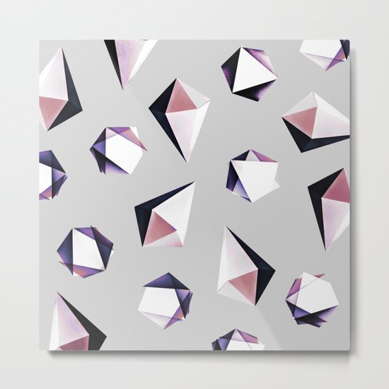 Origami #5Y Metal Print