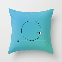 Looping Throw Pillow