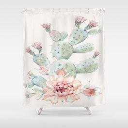 Cactus 3 #society6 #buyart Shower Curtain