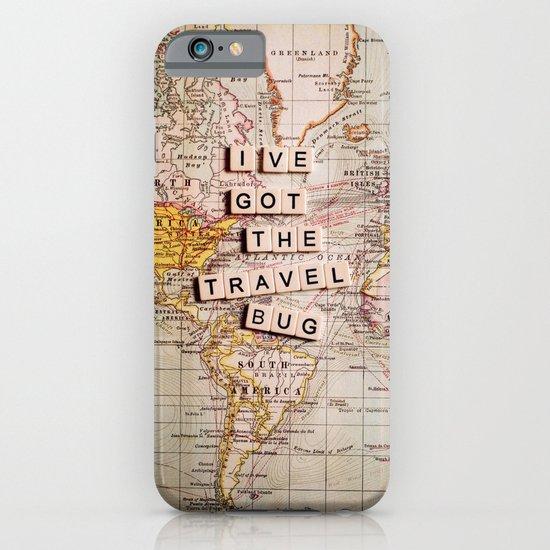 I've got the travel bug iPhone & iPod Case