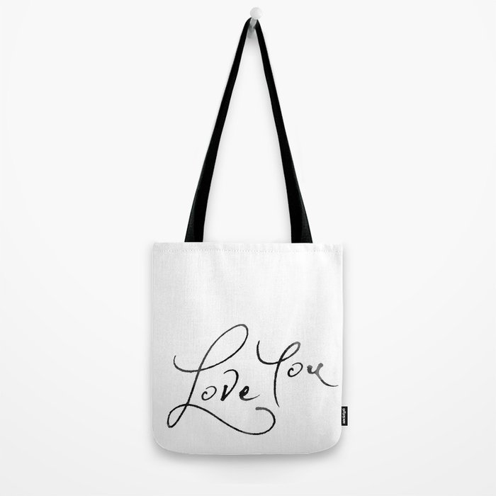 Love You Tote Bag