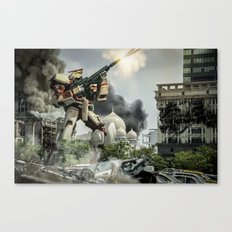 Astray Shooting Canvas Print