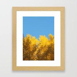 fall crush Framed Art Print