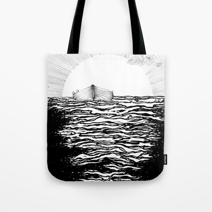Abandoned to the Sun Tote Bag