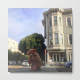 The Hamster + The Sourdough Metal Print