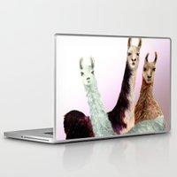 llama Laptop & iPad Skins featuring Llama by Big AL