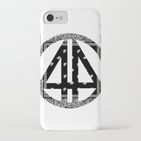 bands iPhone & iPod Cases featuring Floral bands by ART ON CLOTH