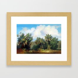 In the Everglades Framed Art Print