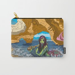 MERMAID COVE Carry-All Pouch