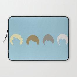 Golden Girls Inspired Hair (blue) Laptop Sleeve