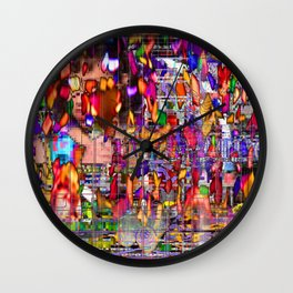 Hate Parade (Have I Used That?) Wall Clock
