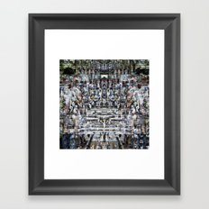 In that moment of reflection remember to recall... Framed Art Print