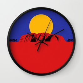 Southern Land Wall Clock