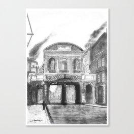 Temple Bar Gate (1870 - London) Canvas Print