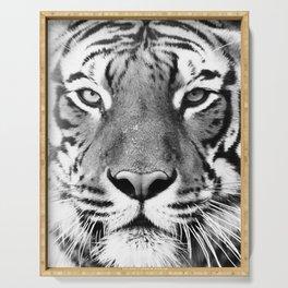 Tiger, Animal, Scandinavian, Minimal, Trendy decor, Interior, Wall art Art Serving Tray