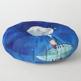 Little astronomer Floor Pillow