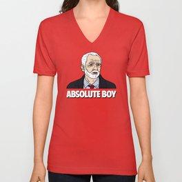 Jeremy Corbyn Absolute Boy Unisex V-Neck