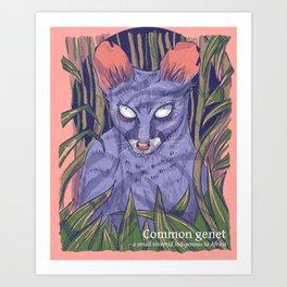 Genet Art Print