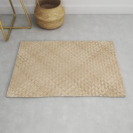 Weave Pattern, Texture Art, Boho Wall Art and Decor Rug