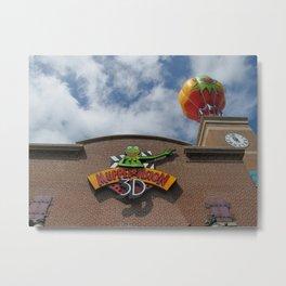 Muppet Vision Metal Print