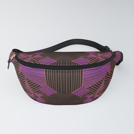 pink data Fanny Pack