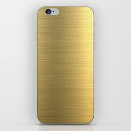 gold home decor iPhone Skin