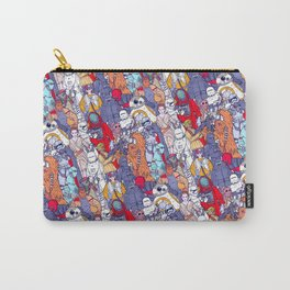 Smaller Space Toons in Color Carry-All Pouch